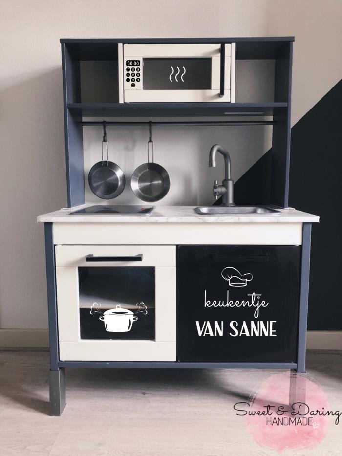 Ikea duktig keuken keukentje van sticker