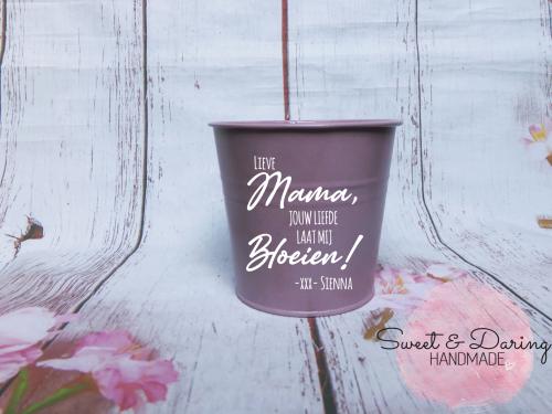 bloempotje moederdag