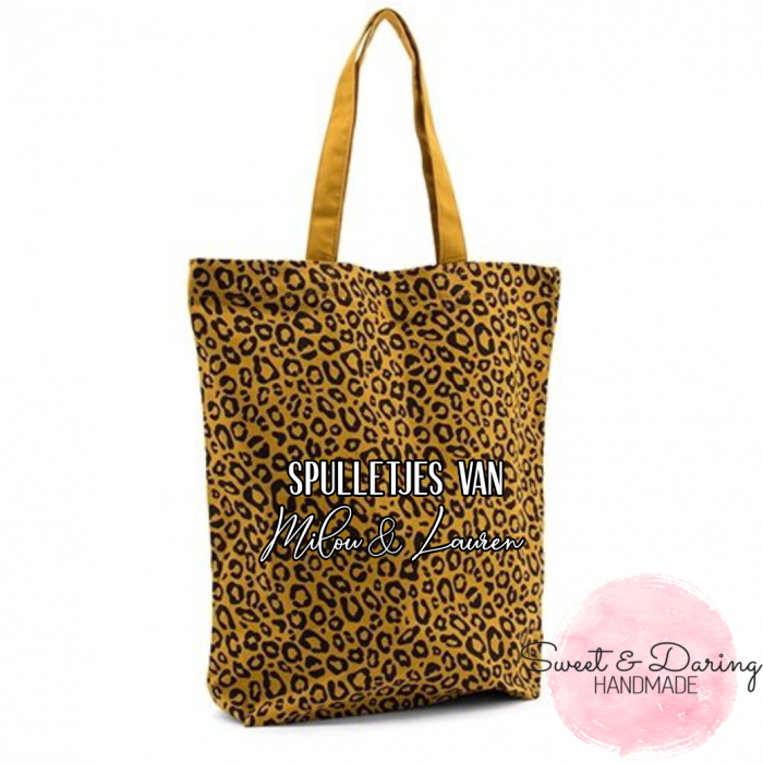 Leopard shopper