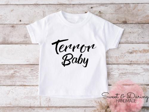 shirt terror baby